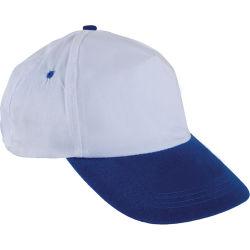 - 0101 Beyaz Şapka - Saks Mavi Siperli