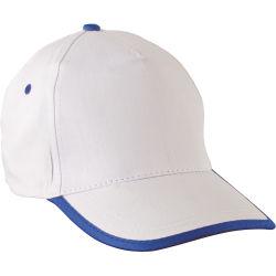 - 0110-23 Beyaz - Saks Mavi Şapka