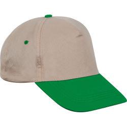 - 0120-04 Bej - Yeşil Şapka