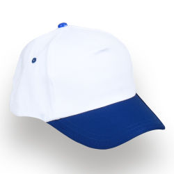 - 0140-06 Beyaz - Lacivert Şapka
