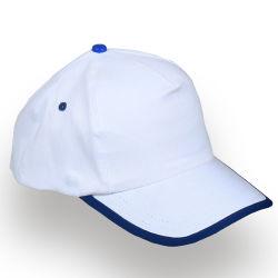 - 0150-06 Beyaz - Lacivert Şapka