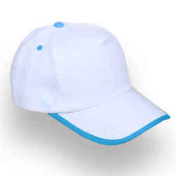 - 0150-18 Beyaz - Turkuaz Şapka