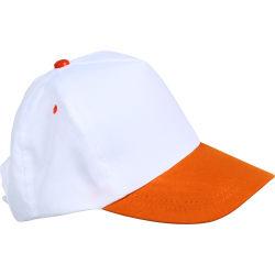 - 0201-13 Beyaz - Turuncu Şapka