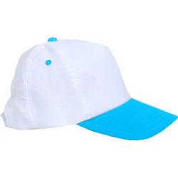 - 0201-18 Beyaz - Turkuaz Şapka
