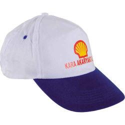 - 0302 Beyaz - Lacivert Siperli Şapka
