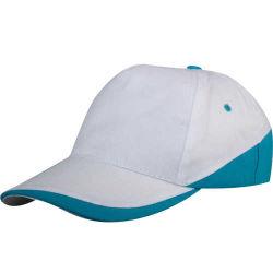 - 0309 Beyaz - Turkuaz Parçalı Şapka