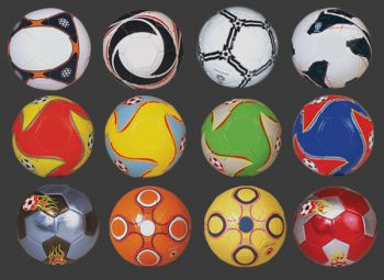 - Baskılı ve Dikişli Futbol Topları