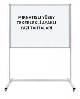 - Mıknatıslı Yüzey Tekerlekli Ayaklı Yazı Tahtaları