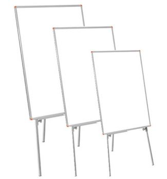 - - Teleskopik Ayaklı Laminat Yazı Tahtası (Flip Chart)