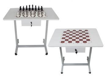 - Komple Satranç Takımı Masası